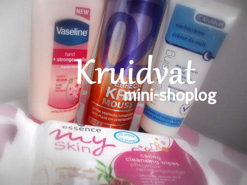 Kruidvat mini-shoplog