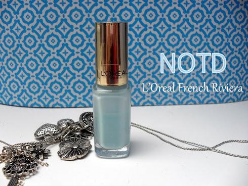 NOTD: L'Oréal nr. 601 French Riviera