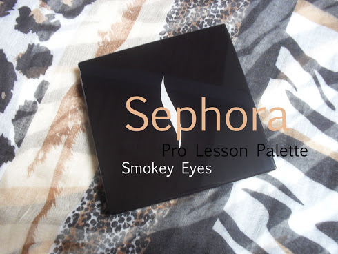 Sephora Pro Lesson Palette (Smokey Eyes) + ooglook