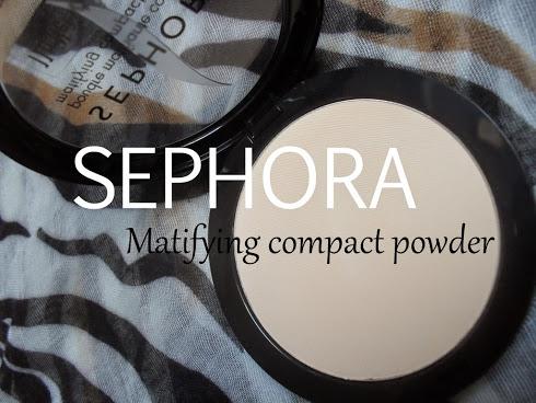 Sephora Matifying Compact Powder