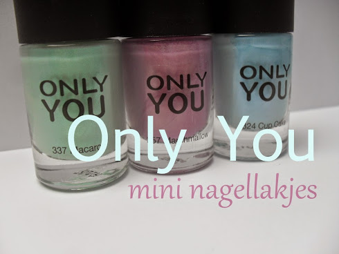 Only You pastel nagellaksetje
