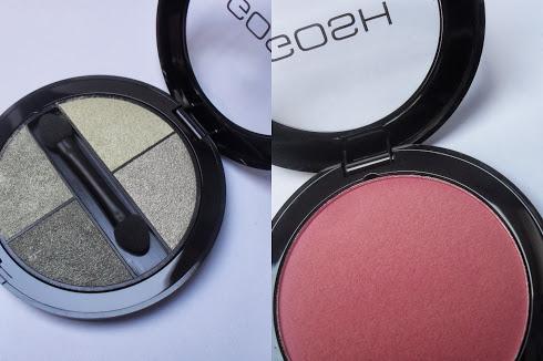 Gosh quattro eyeshadow en blush (+look)