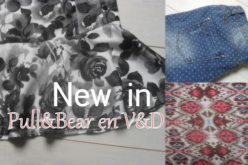 New in: Pull&Bear en V&D items