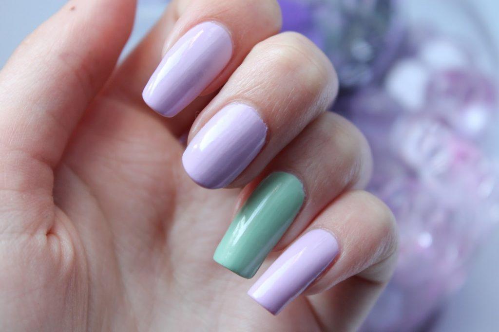 NOTD| Lavender mint