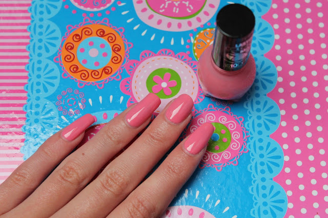 NOTD | Perfect pink