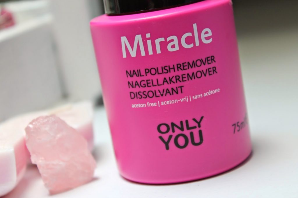 REVIEW | ONLY YOU MIRACLE NAGELLAKREMOVER