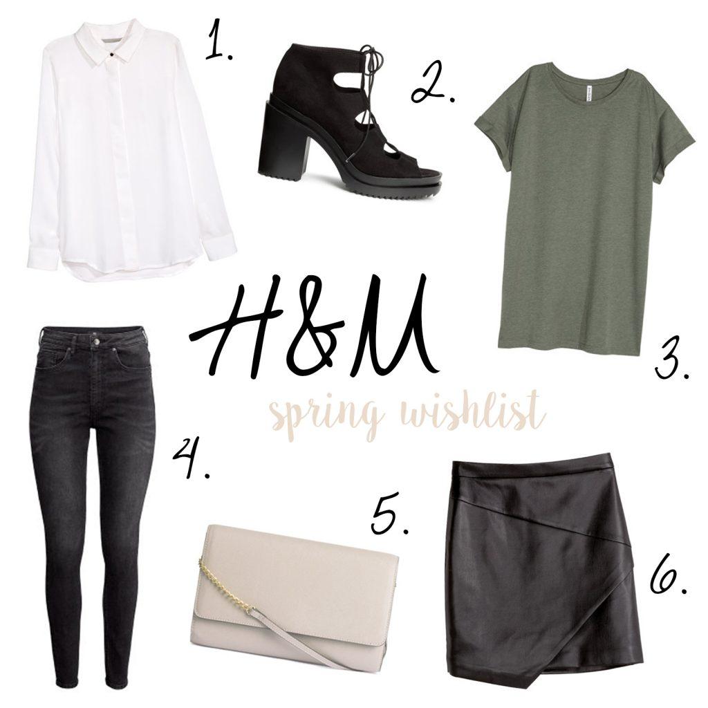 H&M SPRING WISHLIST