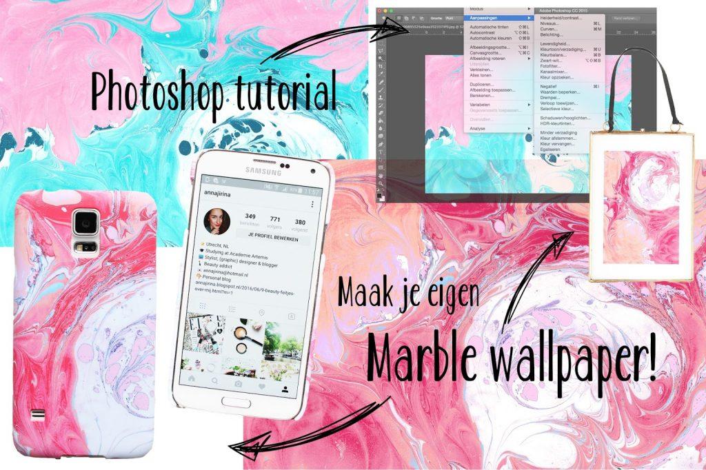 Eenvoudig Je Eigen Marble Wallpaper Customizen Anna Jirina