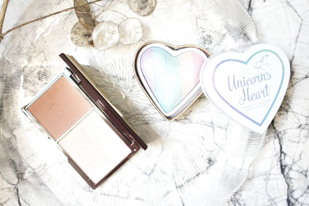 I HEART MAKE-UP | BRONZE AND GLOW PALETTE & UNICORNS HIGHLIGHTER