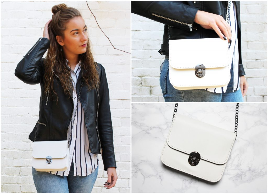 OUTFIT OF THE DAY | WITTE CROSS BODY BAG!