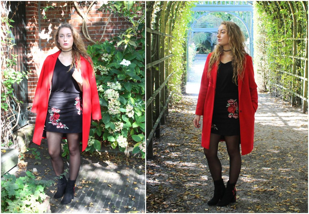 OUTFIT OF THE DAY | OBSESSED WITH RED AND FLOWERS!