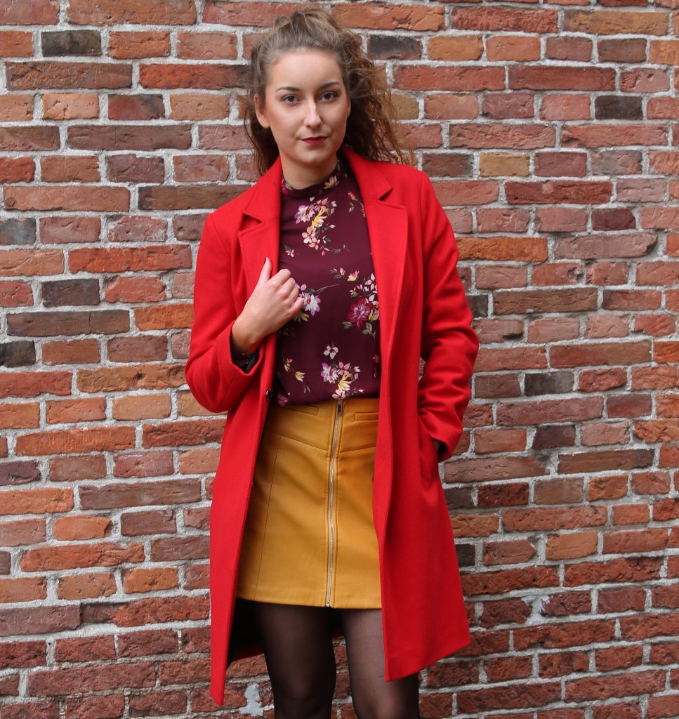 OUTFIT OF THE DAY | COLOUR BLOCKING