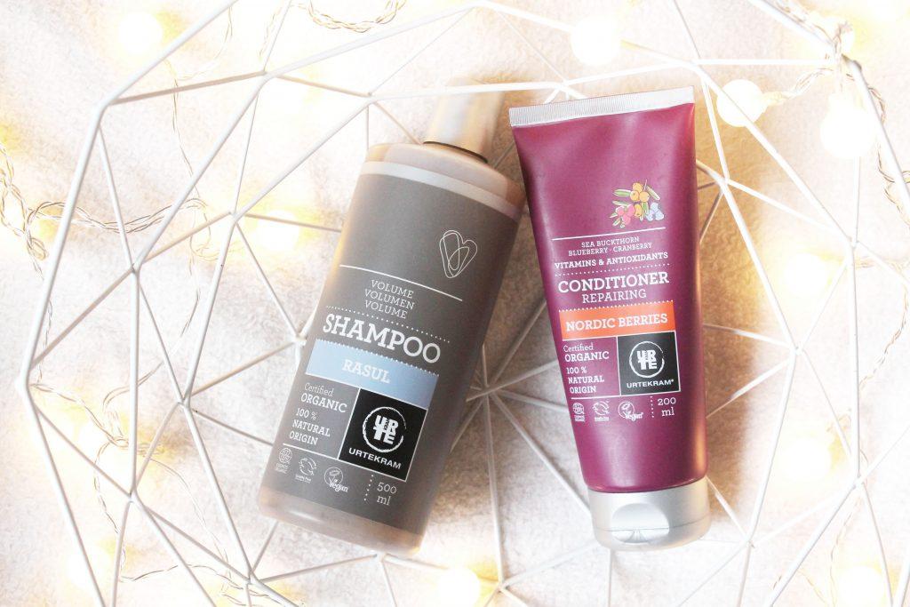 Urtekram organic shampoo en conditioner review