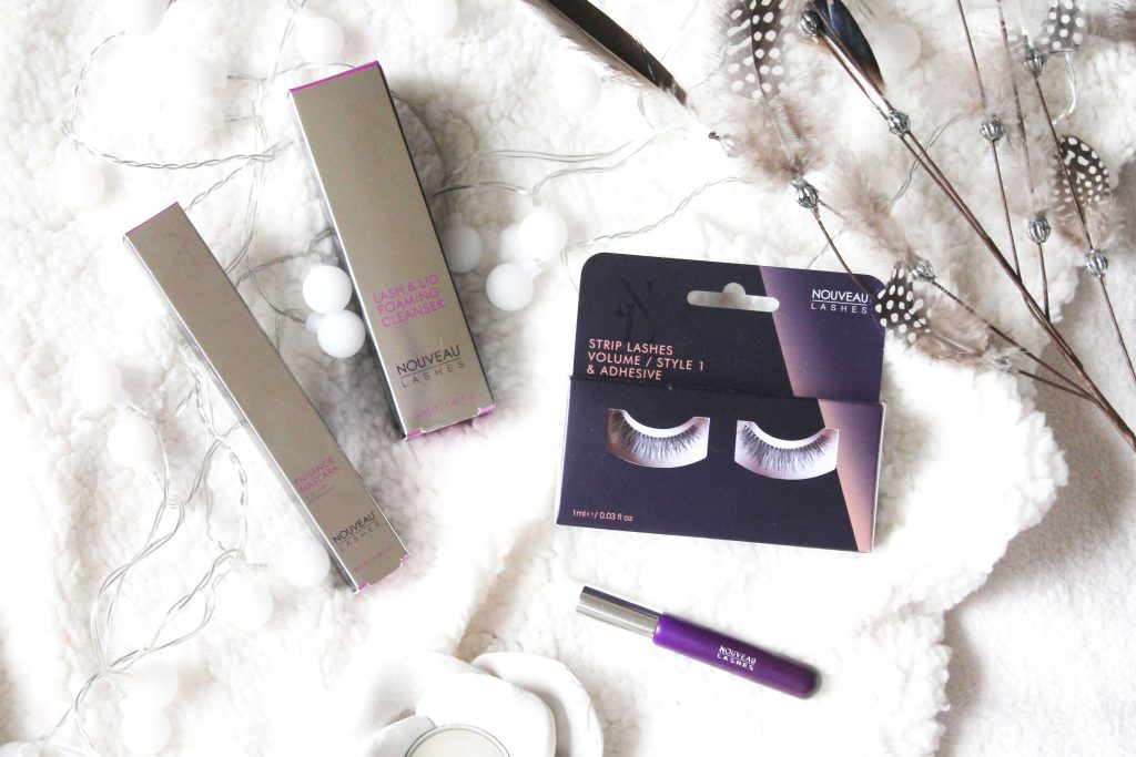 Nouveau Lashes Enhance Mascara & Foaming Cleanser | Review