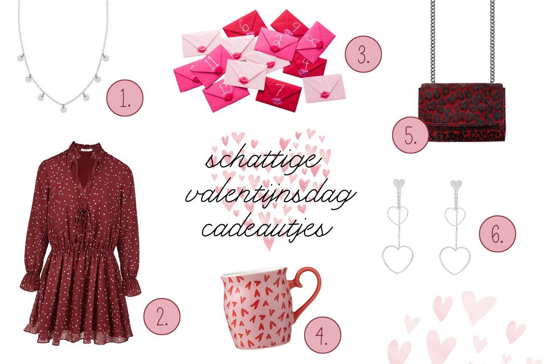 cadeautjes voor Valentijnsdag