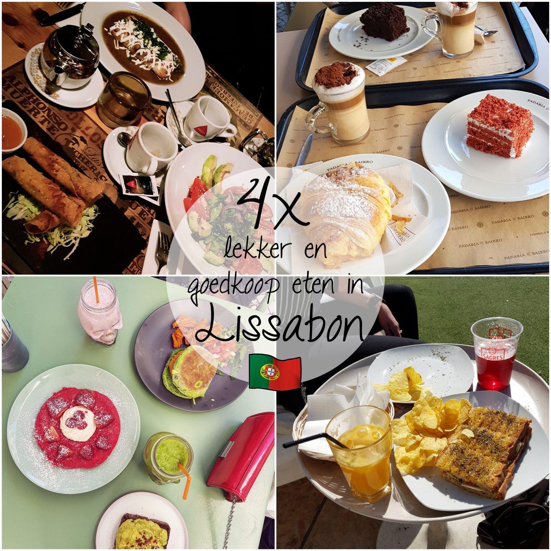 Lissabon diaries #2 | 4 x lekker en goedkoop eten in Lissabon!