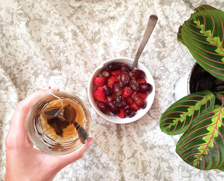 Eetdagboek van een vegetariër #4 | Een typisch thuiswerk-dagje!