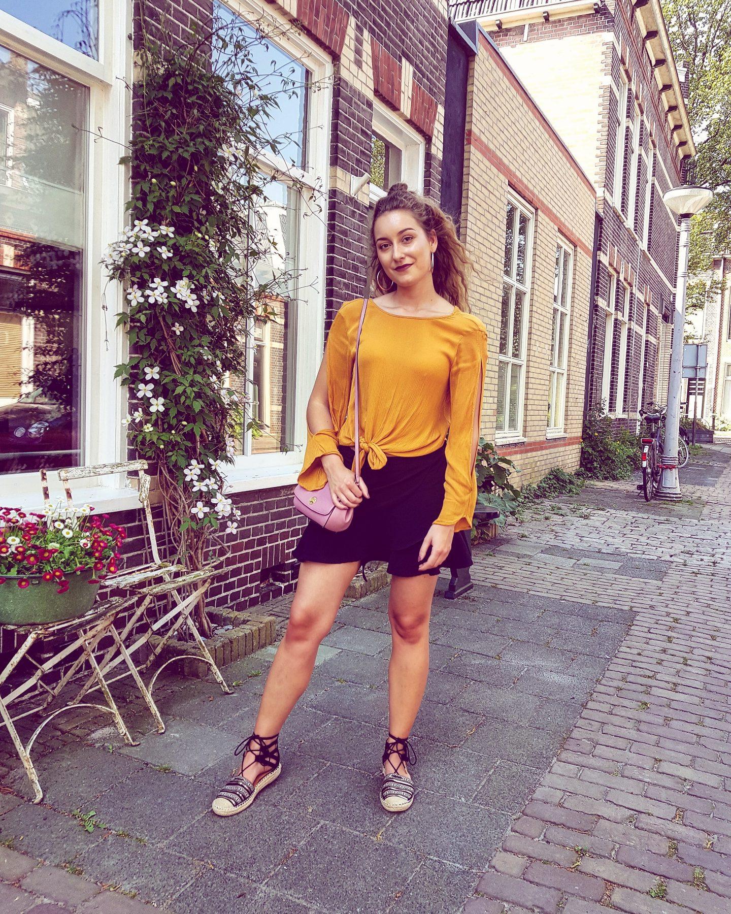 Lente outfit | Helemaal verliefd op de kleur geel!