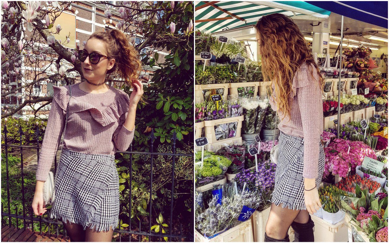 Outfit | Toen de bloesembomen nog in bloei stonden