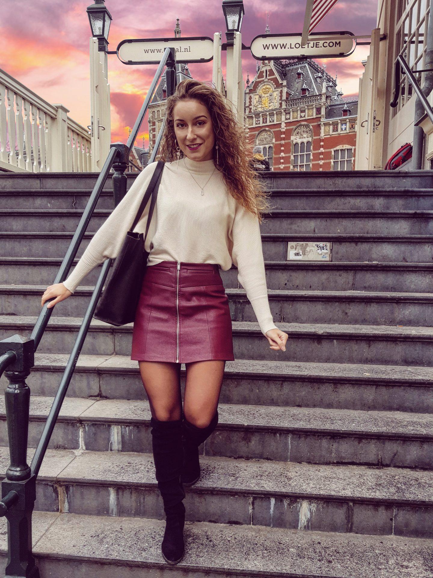 Dagje Amsterdam en sweater weather! | Outfit & klets