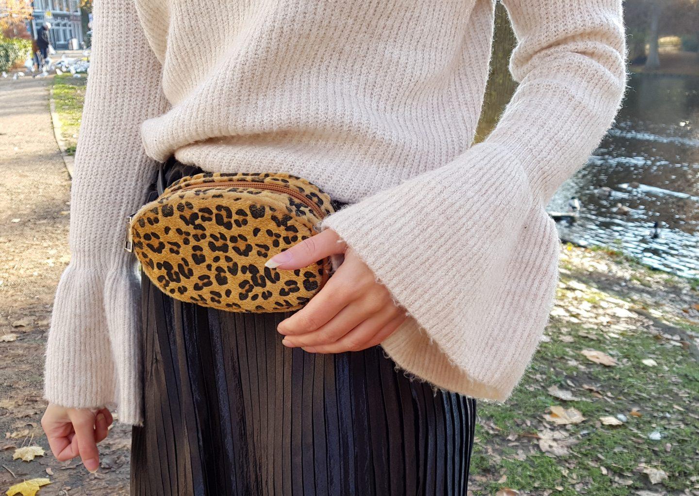 leopard bumbag