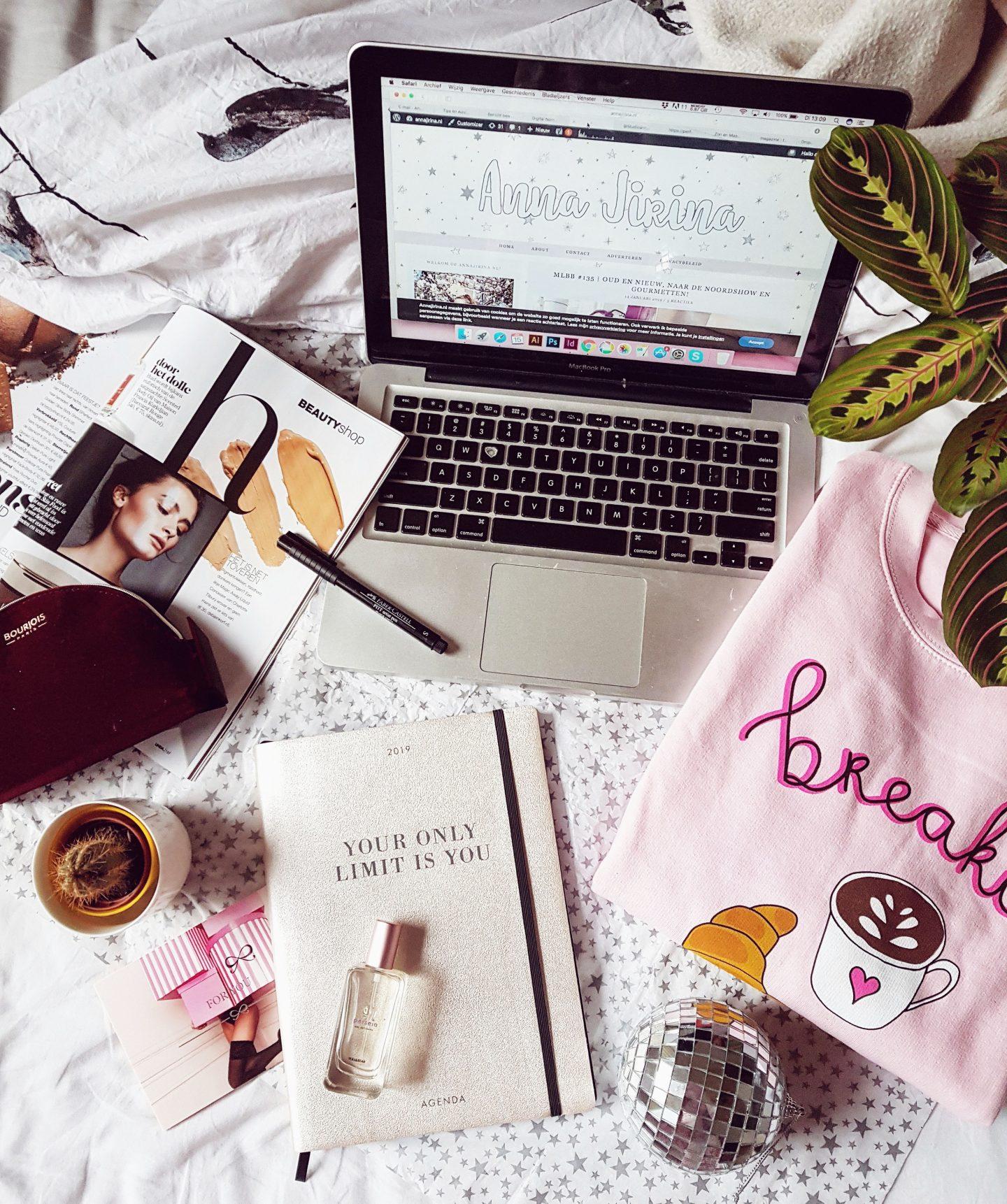 Deze 5 doelen wil ik in 2019 bereiken met mijn blog!