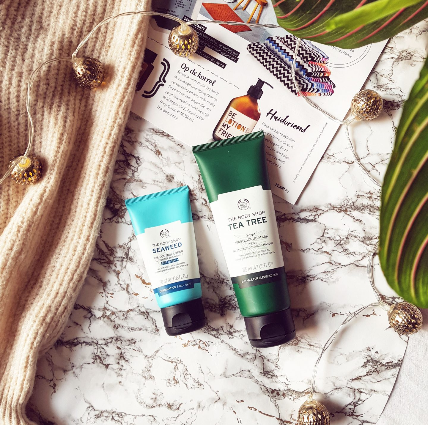 The Body Shop Tea Tree Mask & Seaweed Oil Control Lotion review