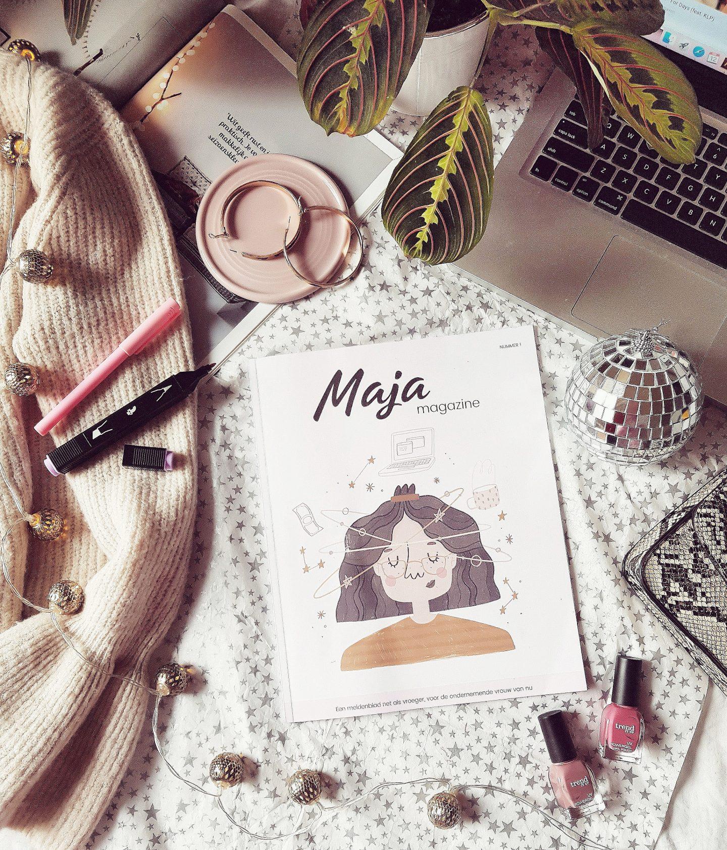 """Maja Magazine: Het """"meidenblad"""" voor vrouwelijke ondernemers!"""