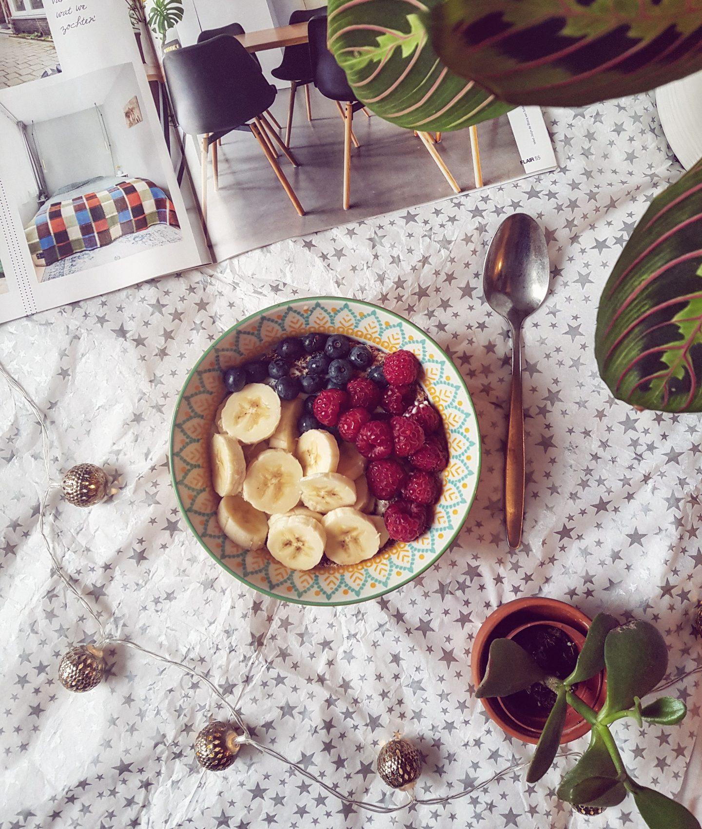 3 x Mijn favoriete vegan ontbijtjes van dit moment!