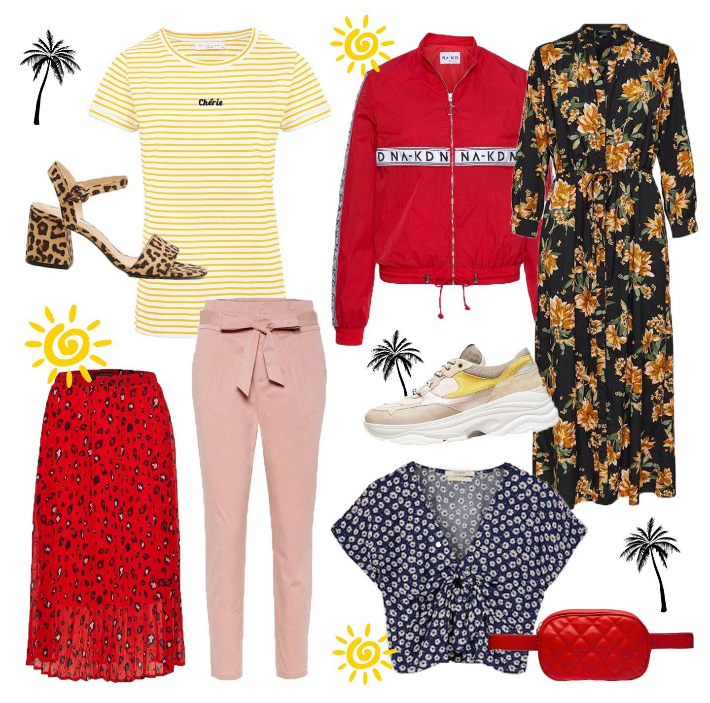 9 Vrolijke en kleurrijke items voor jouw zomergarderobe!