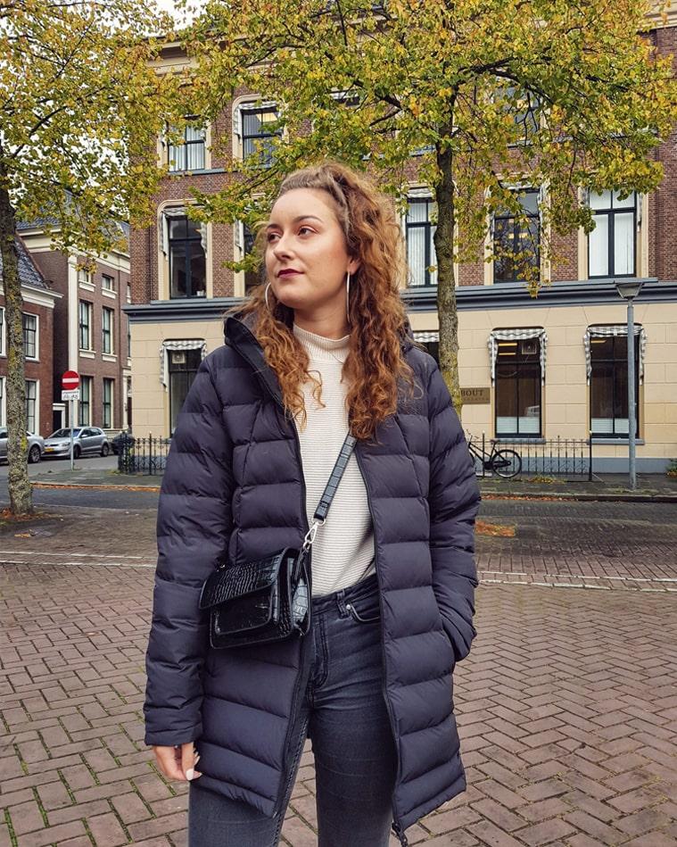 Outfit: Mijn nieuwe regenbestendige én warme winterjas